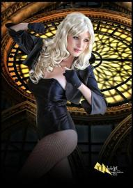 Black Canary from DC Comics worn by Alouette
