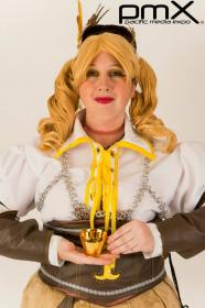 Mami Tomoe from Madoka Magica worn by Cerulean Rogue/Andrea Austin