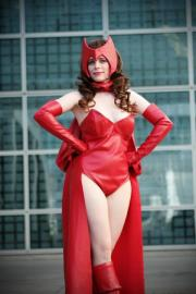 Scarlet Witch from Marvel Comics worn by Mousie