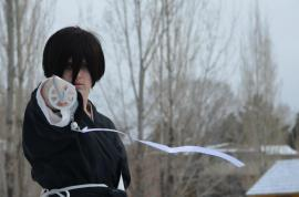 Rukia Kuchiki from Bleach worn by Genius Program