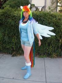 Rainbow Dash from My Little Pony Friendship is Magic worn by Windryder