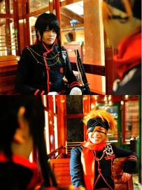Yu Kanda from D. Gray-Man worn by Yuuchul