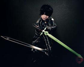 Kirito from Sword Art Online worn by Yuuchul