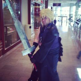 Cloud Strife from Final Fantasy VII: Advent Children worn by Jeimi