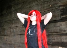 Grell Sutcliff from Black Butler worn by Moe