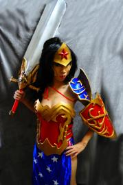 Wonder Woman from DC Comics worn by Angelus