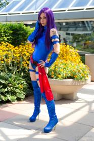 Psylocke from X-Men worn by Zadra