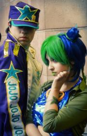 Jolyne Kujo from Jojo's Bizarre Adventure worn by Victoria Russo