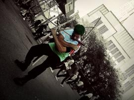 Roronoa Zoro from One Piece worn by Alpha