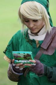 Link from Legend of Zelda: Twilight Princess worn by Candice Marisa