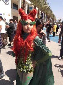 Poison Ivy from Batman worn by Candice Marisa