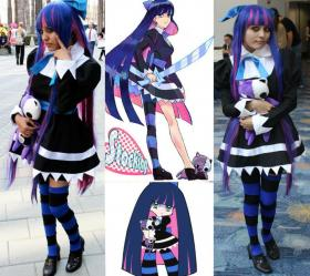 Stocking from Panty and Stocking with Garterbelt worn by Candice Marisa