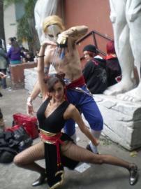 Chun Li from Street Fighter IV worn by Chun-Li