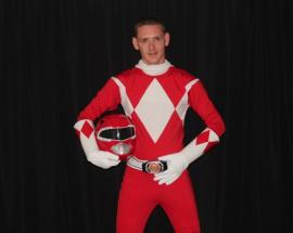 Red Ranger from Mighty Morphin' Power Rangers