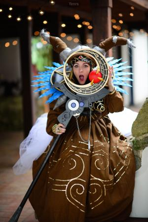 Rita Repulsa from Mighty Morphin' Power Rangers worn by Skywalker