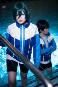 Ikuya Kirishima from Free! - Iwatobi Swim Club worn by Lauren Hibs