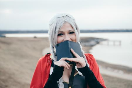 Nina from Fire Emblem Fates worn by Lauren Hibs