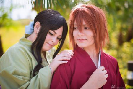 Kenshin Himura from Rurouni Kenshin worn by Lauren Hibs
