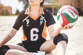 Ennoshita Chikara from Haikyuu!! worn by Lauren Hibs