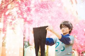 Kousei Arima from Your Lie in April worn by Lauren Hibs