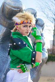Caesar Antonio Zeppeli from Jojo's Bizarre Adventure worn by Lauren Hibs