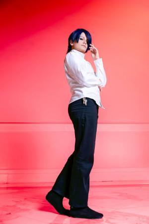 Yusuke Kitagawa from Persona 5 worn by Lauren Hibs