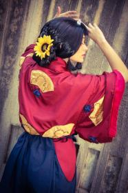 Eboshi from Princess Mononoke worn by BattyJuice
