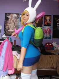 Fionna from Adventure Time with Finn and Jake worn by Emmitz
