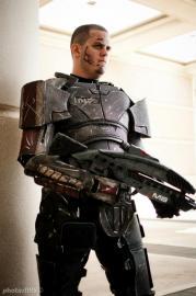 Commander Shepard from Mass Effect 2