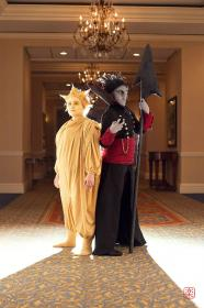 Pitch Black from Rise of the Guardians worn by Fraxinus Cosplay