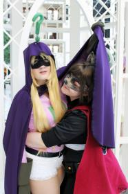 Mysterion from South Park worn by Fraxinus Cosplay