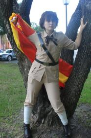 Spain from Axis Powers Hetalia worn by Fraxinus Cosplay