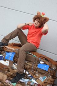 Burgerpants from Undertale worn by Fraxinus Cosplay