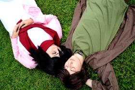 Mikasa Ackerman from Attack on Titan worn by Fraxinus Cosplay