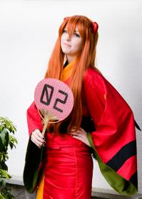 Asuka Langley Sohryu from Neon Genesis Evangelion worn by Agent Rainbow