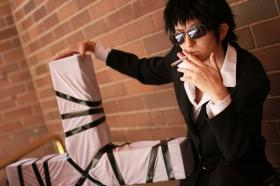 Nicholas D. Wolfwood from Trigun worn by J-Jo Cosplay