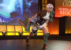 Riven from League of Legends worn by Soft Bells