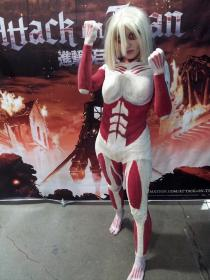Female Titan  from Attack on Titan worn by Teragarm