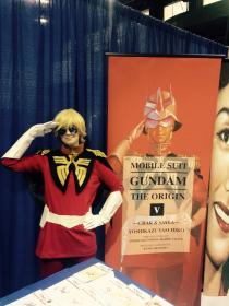 Char Aznable from Mobile Suit Gundam