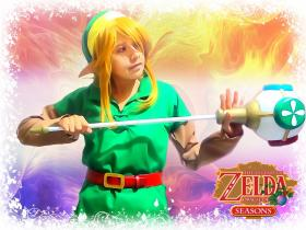 Link from Legend of Zelda: Oracle of Seasons worn by Niram