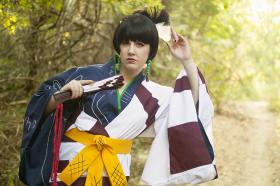 Kagura from Inuyasha worn by Khamomeal Tea