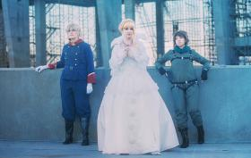 Asseylum Vers Allusia from Aldnoah Zero worn by Khamomeal Tea