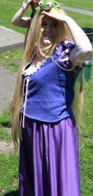 Rapunzel from Tangled worn by Candy Jam Cosplay