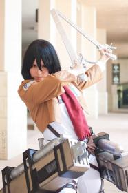 Mikasa Ackerman from Attack on Titan worn by chibibotan