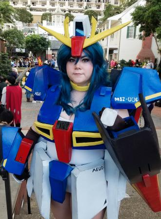MSZ-006 Zeta Gundam from Mobile Suit Zeta Gundam by MechaMoe