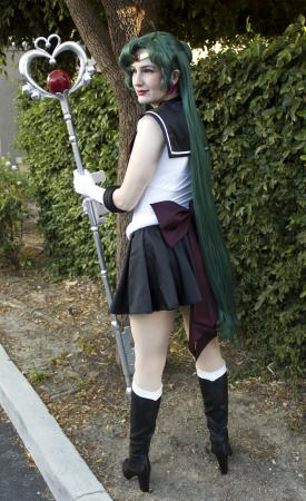 Super Sailor Pluto (Sailor Moon Crystal)  by Zephyr Makes Things