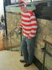 Waldo from Wheres Waldo worn by KinseyAndrew