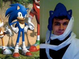 Sonic the Hedgehog from Sonic the Hedgehog Series worn by KinseyAndrew