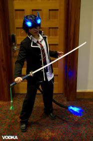 Rin Okumura from Blue Exorcist worn by Starry Akari