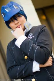 Naoto Shirogane from Persona 4 worn by Starry Akari